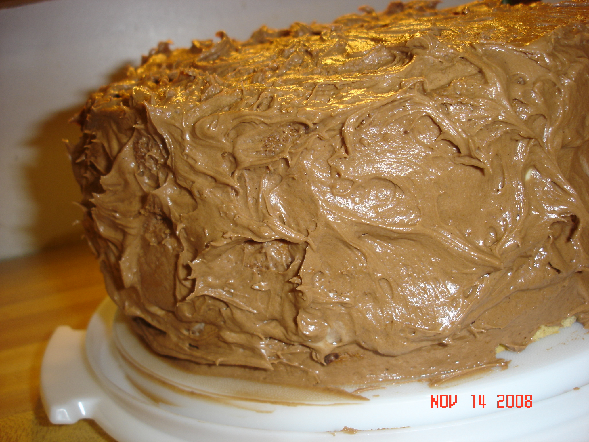 Sky High Sweet Potato Cake | Tea and Scones