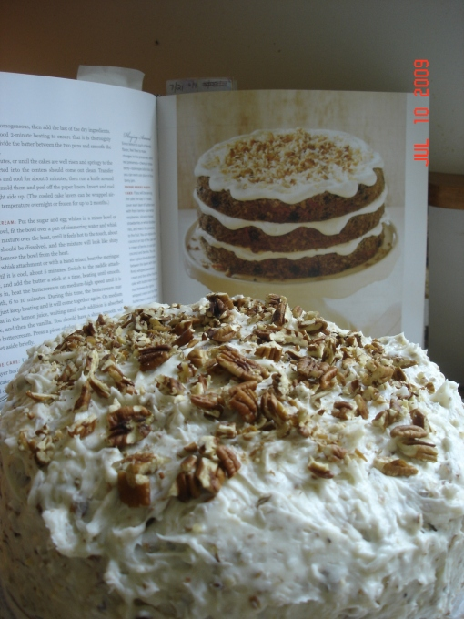 Bill's big Carrot Cake....