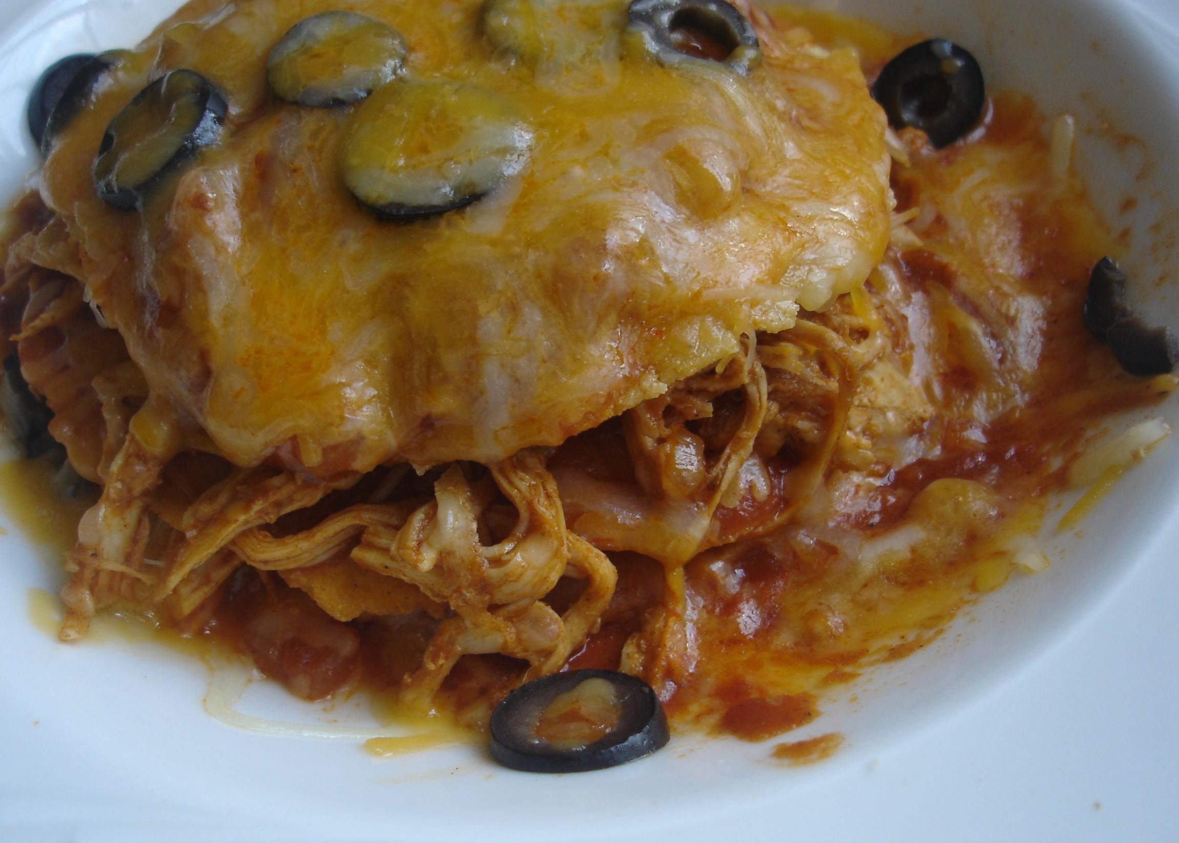 Daring Cooks – Stacked Chicken Enchiladas