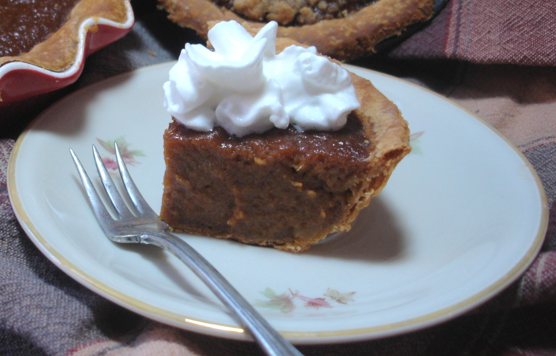 Twd pumpkin pie with a twist tea and scones for Pumpkin pie with a twist